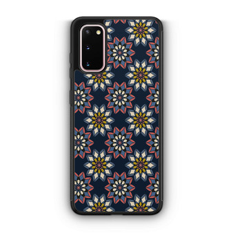 Abstract Flowers Patterns Samsung Galaxy S20/S20 Plus/S20 Ultra Case