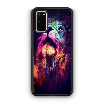 Abstract Lion Space Samsung Galaxy S20/S20 Plus/S20 Ultra Case