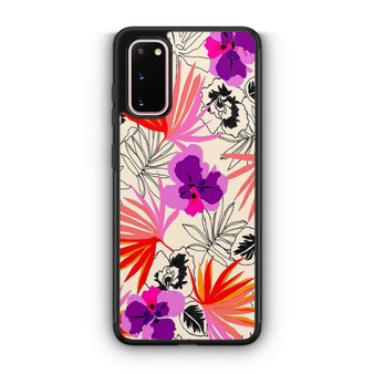 Abstract Leaf Pattern Samsung Galaxy S20/S20 Plus/S20 Ultra Case