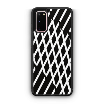 Abstract Line Black And White Samsung Galaxy S20/S20 Plus/S20 Ultra Case
