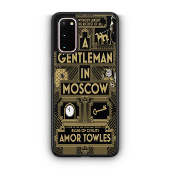 A Gentleman In Moscow Samsung Galaxy S20/S20 Plus/S20 Ultra Case