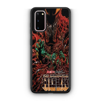 Absolute Carnage The Immortal Hulk Samsung Galaxy S20/S20 Plus/S20 Ultra Case