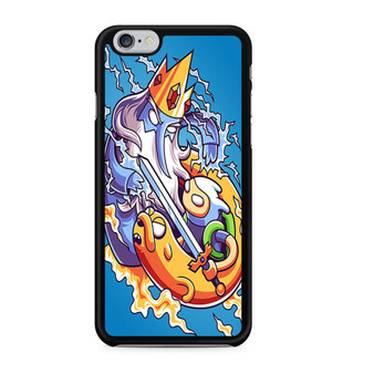 Adventure Time Finn And Jake VS Ice King iPhone 6/6 Plus Case
