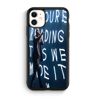 Drake At The Austin City Music Festival iPhone 11/11 Pro/11 Pro Max Case