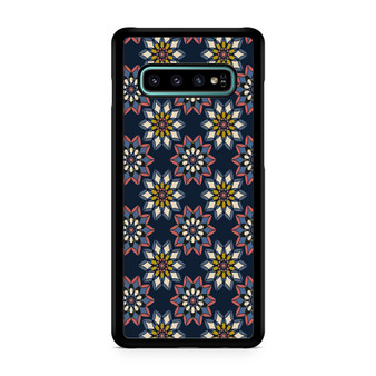 Abstract Flowers Patterns Galaxy S10/5G/S10 Plus/S10E/lite Case