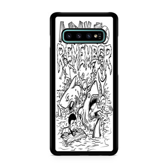 A Day To Remember Shark Week Galaxy S10/5G/S10 Plus/S10E/lite Case