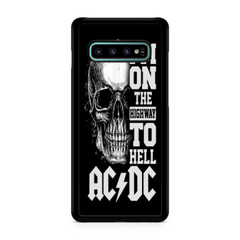 ACDC Highway To Hell Galaxy S10/5G/S10 Plus/S10E/lite Case