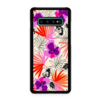 Abstract Leaf Pattern Galaxy S10/5G/S10 Plus/S10E/lite Case