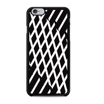 Abstract Line Black And White iPhone 6/6 Plus Case