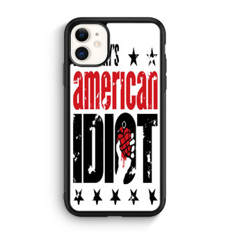 Green Day American Idiot White iPhone 11/11 Pro/11 Pro Max Case
