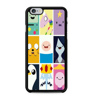 Adventure Time Character Faces iPhone 6/6 Plus Case