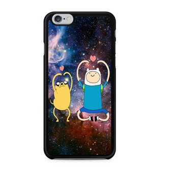 Adventure Time Finn And Jake Love Sign Space iPhone 6/6 Plus Case