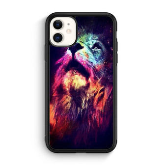 Abstract Lion Space iPhone 11/11 Pro/11 Pro Max Case