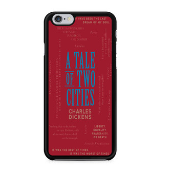 A Tale Of Two Cities By Charles Dickens iPhone 6/6 Plus Case