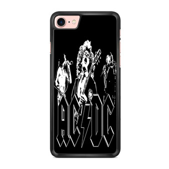 ACDC Band Members Vector iPhone 7/ 7 Plus Case