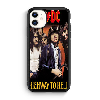 ACDC Highway To Hell Poster iPhone 11/11 Pro/11 Pro Max Case