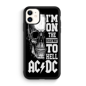 ACDC Highway To Hell iPhone 11/11 Pro/11 Pro Max Case