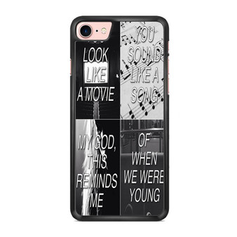 Adele When We Were Young iPhone 7/ 7 Plus Case