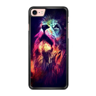Abstract Lion Space iPhone 7/ 7 Plus Case