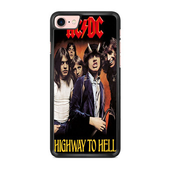 ACDC Highway To Hell Poster iPhone 7/ 7 Plus Case