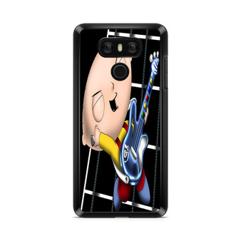 Family Guy Stewie Griffin Playing Guitar LG G6 Case