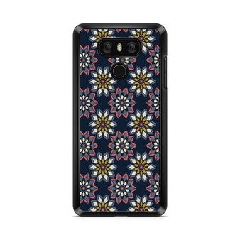 Abstract Flowers Patterns LG G6 Case