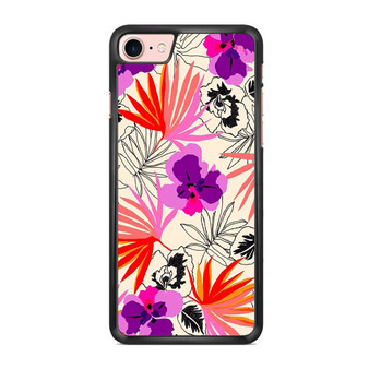 Abstract Leaf Pattern iPhone 7/ 7 Plus Case