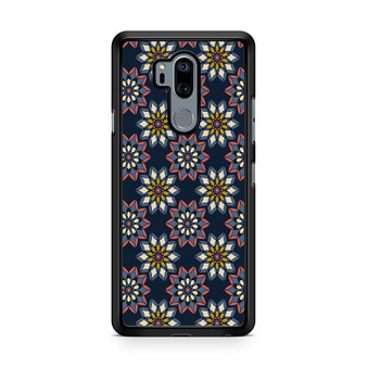 Abstract Flowers Patterns LG G7 thinq Case