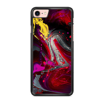 Abstract Red Color Painting iPhone 7/ 7 Plus Case