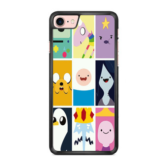 Adventure Time Character Faces iPhone 7/ 7 Plus Case