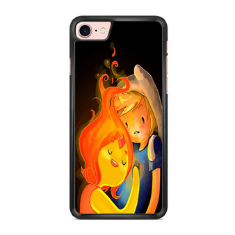 Adventure Time Finn And Flame Princess iPhone 7/ 7 Plus Case