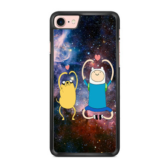 Adventure Time Finn And Jake Love Sign Space iPhone 7/ 7 Plus Case