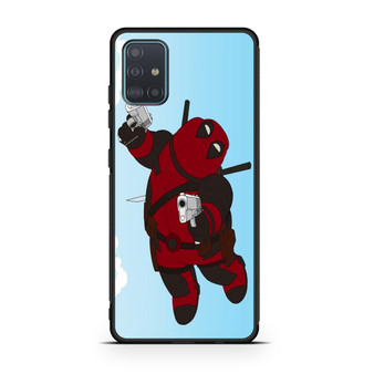 Family Guy Peter Becomes Deadpool Samsung Galaxy A51 Case