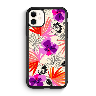 Abstract Leaf Pattern iPhone 11/11 Pro/11 Pro Max Case