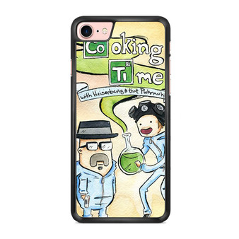 Adventure Time Cooking Time Breaking Bad iPhone 7/ 7 Plus Case