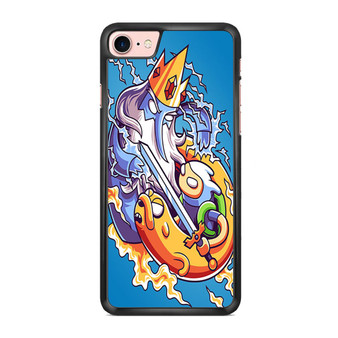 Adventure Time Finn And Jake VS Ice King iPhone 7/ 7 Plus Case