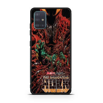 Absolute Carnage The Immortal Hulk Samsung Galaxy A51 Case