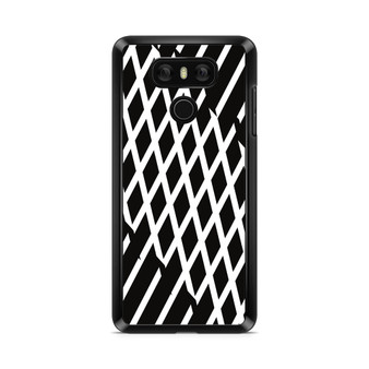 Abstract Line Black And White LG G6 Case