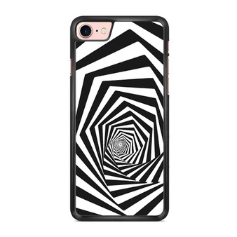 Abstract Spiral Square iPhone 7/ 7 Plus Case