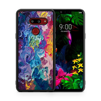 Abstract Color Painting LG G8 thinq Case