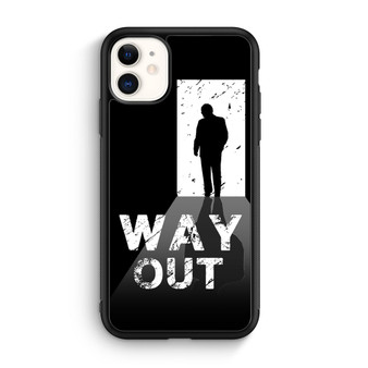 Way Out Escape Game Poster iPhone 11/11 Pro/11 Pro Max Case