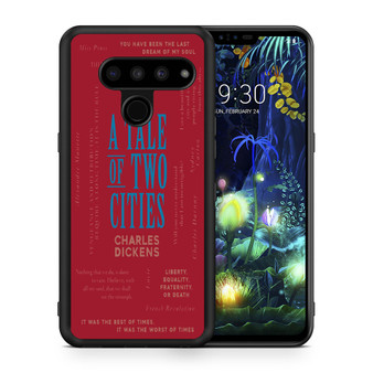 A Tale Of Two Cities By Charles Dickens LG V50 thinq Case