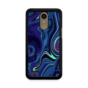 Abstract Color Paint Blue LG K10 2017 / 2018 Case