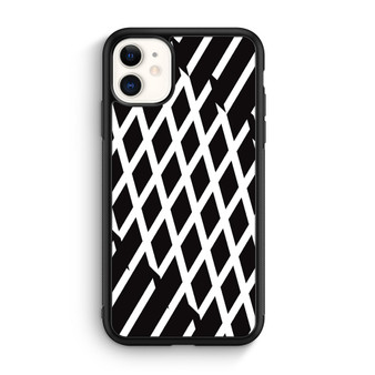 Abstract Line Black And White iPhone 11/11 Pro/11 Pro Max Case