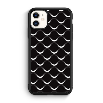 Infinity Line Pattern Black And White iPhone 11/11 Pro/11 Pro Max Case