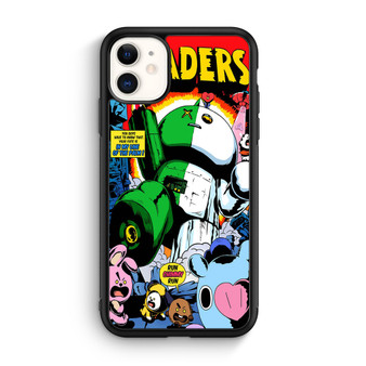 BTS Kpop BT21 Invaders iPhone 11/11 Pro/11 Pro Max Case