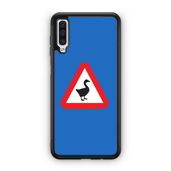 Untitled Goose Game Logo Only Samsung Galaxy A50 Case