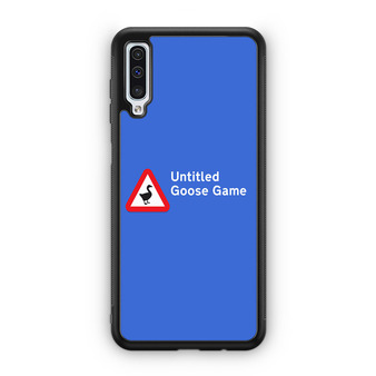 Untitled Goose Game Logo Samsung Galaxy A50 Case