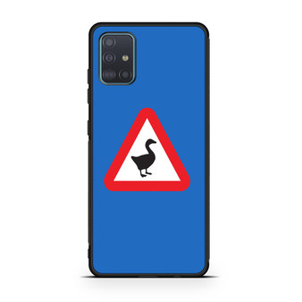 Untitled Goose Game Logo Only Samsung Galaxy A51 Case