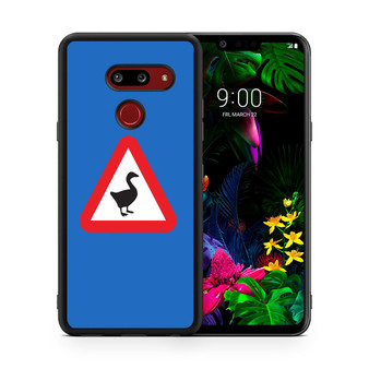 Untitled Goose Game Logo Only LG G8 thinq Case